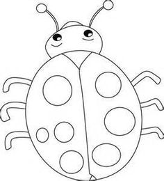 Ladybug Coloring Pages Printable