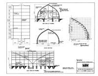 Gothic Rafter Greenhouse: Free Plans to build a X greenhouse with the… Diy Greenhouse Plans, Greenhouse Supplies, Simple Greenhouse, Greenhouse Wedding, Victorian Greenhouses, Wooden Greenhouses, Building A Shed, Building Plans, Architecture