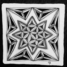 It's a String Thing Zentangle Challenge 81 Using Fassett and Phroz