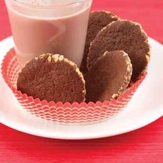 Chocolate Peanut Crisps