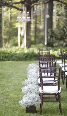 Stylish Baby's Breath Weddings