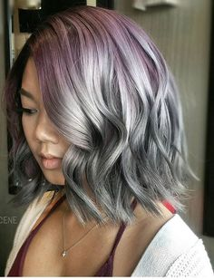 Purple grey awesome
