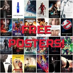 Comic Con Amsterdam is in 2 weeks and we have something nice for you: a free IMAX poster with every purchase and a free cinema sized poster with every purchase of 50 and up. Here's some of the poster we have.  See you in Amsterdam? -Melvin #comicconamsterdam #amsterdamcomiccon