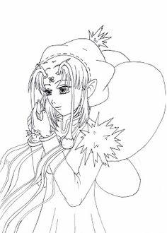 Manga Zeichnung - Fee