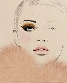 Sandra Suy illustration, fabulous... Fashionlingual: Fashion Illustration, Le Frou Frou