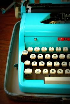 How cool would this old-school typewriter be?  Do you like the kinetic feedback a traditional typewriter gives versus a chiclet keyboard?