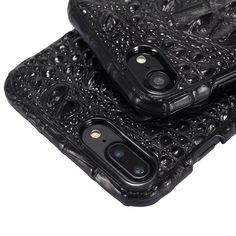 Luxury 3D Crocodile Skin Leather Case for iPhone 7 Plus Cell Phone Original Natural Real Genuine Leather Hard case Cover Cases