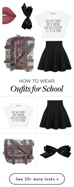 """School artist"" by ajh0107 on Polyvore featuring Lime Crime, Chanel and UNIONBAY"