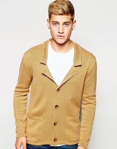 ASOS Knitted Blazer in Cotton