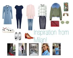 """Inspiration from Milan"" by malinandersson on Polyvore featuring By Malene Birger, Acne Studios, Chiara Ferragni, Gucci, Valentino, MOA Master of Arts and Chloé"