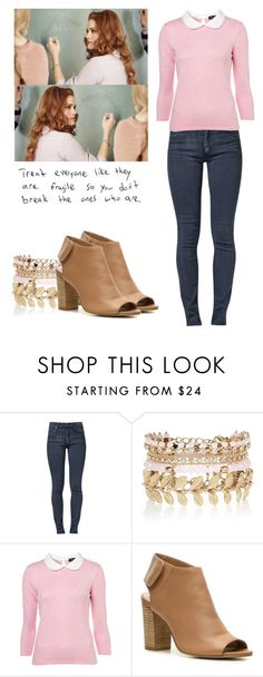 """""""Lydia Martin - tw / teen wolf"""" by shadyannon ❤ liked on Polyvore featuring Cheap Monday, River Island and Crown Vintage"""