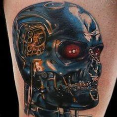 T-800 tattoo @craighicks