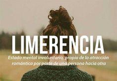 Las 20 palabras más bellas del castellano #Limerencia
