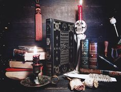 Leather Journal Grimoire  The Book of the Temple of the Dead