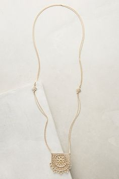 Minervino Pendant Necklace #anthropologie $29.95