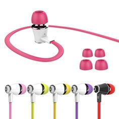 3.5MM Handfree Stereo HIFI Bass MP3 Phone In-Ear Earphones with Built-in Microphone For IPhone Samsung Hot Sale