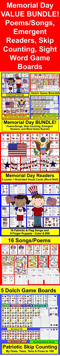 memorial day powerpoint for kindergarten