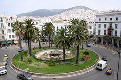 Moulay el Mehdi square, Tétouan / http://4sq.com/IoxgYr