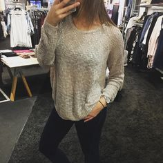 """One of the new arrivals we just got in!! The """"Firefly Sweater"""" ($58)  FREE SHIPPING  Call 440.893.9279 email sales@sanitystyle.com  to order or shop in store    #sanitystyle #sanitychagrinfalls #shoplocal #chagrinfalls #shopchagrinfalls #boutique #freeshipping #cleveland #clevelandfashion #clevelandstyle #style #shop #cle #thisiscle #love #selloninsta #instasale #fashionpost #beautiful #picoftheday #shopping #shopaholic #fall #fallfashion  #retailtherapy #instaboutique"""