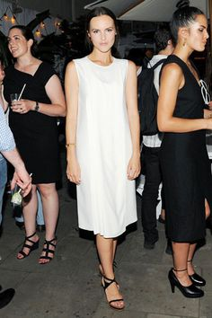 Downtown to Down Under: Australian Fashion Foundation's 5th Annual Summer Party - Jessica Jones in Calvin Klein Collection