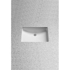 TOTO rectangular under-mount 20-7/8 x 14 3/8