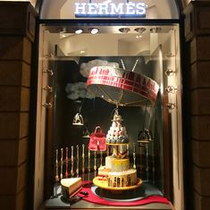 "HERMES, Mumbai, India, ""Welcome to Candyland"", (A physical manifestation of the seasonal experience of consuming candy),  photo by Rooshad Shroff, pinned by Ton van der Veer"