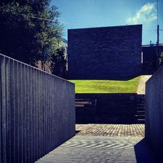 View into my garden at the back of the house in Cornwall .#davidchipperfield. 21st August 2012