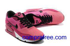 official photos c6dd3 7e6bb Comprar baratos mujer Nike Air Max 90 Zapatillas (color negro,blanco,rosa