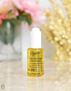 A Daily Dose of Extra Moisture: Kiehl's Daily Reviving Concentrate Review via @15 Minute Beauty