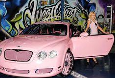 Paris Hilton's Pink Bentley - so jealous!