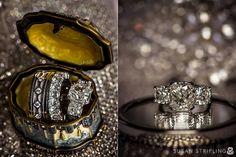 Wedding rings at the Vanderbilt Grace Hotel for a Belle Mer wedding in Newport, Rhode Island