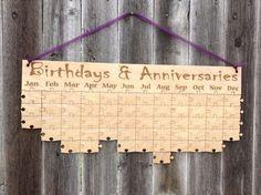 Календарь дней рождения