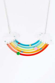 Shop Tatty Devine Head in the Clouds Necklace at Urban Outfitters today. We carry all the latest styles, colours and brands for you to choose from right here. Tatty Devine, Star Shape, Mixed Metals, Gifts For Friends, Urban Outfitters, Sparkle, Gems, Bling