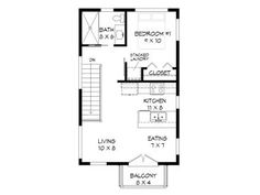 2nd Floor Plan, 062G-0083