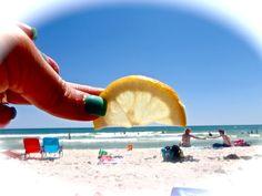 Summer Photo Idea- Lemon Sunset.