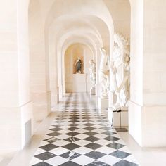 Enchanting hallway. Versailles, France