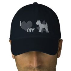 I Love my Lakeland Terrier Embroidered Hat (Steel)