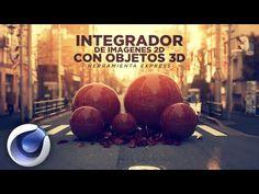 Herramienta para Cinema 4D: Integrador de imagenes 2D con objetos 3D - YouTube