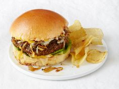 French Onion Burgers from FoodNetwork.com