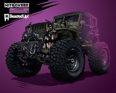 Jeep Willys #BeastedUp! on Behance