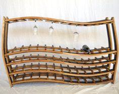 WINE RACK Rosato Hanging Wine Barrel by winecountrycraftsman