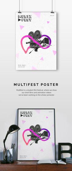 @Behance: «Multifest 2018 Poster» https://www.behance.net/gallery/60944581/Multifest-2018-Poster
