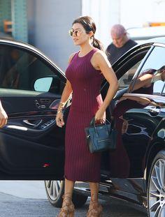 Okay, Kourtney Kardashian Seriously Looks Amazing via @WhoWhatWear