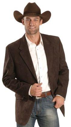 Brown Microsuede Western Jacket - Sheplers