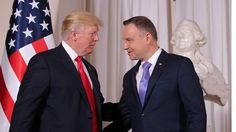 Trump talks energy security in Poland ahead of first meeting with Putin