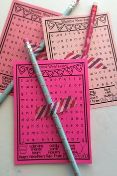 Free Printable Valentine's Day Student Gift