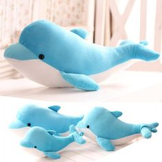 Image of Cute Dolphin Pillow