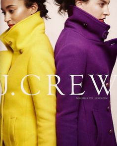 A great pea coat to wear to an interview! Purple & Gold coats = #JMU!