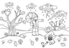 dibuixosi tardor per pintar - Buscar con Google