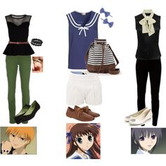 Fruits Basket! Dress like the characters